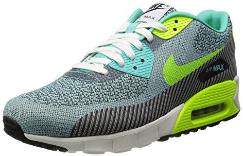 Nike Mens Air Max 90 Jcrd Jacuard Scarpe Da Corsa Iper Turq / Volt-avorio-antracite