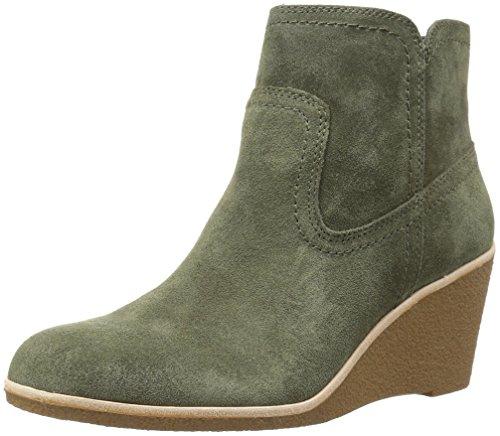 Bass Leather Boot - G.H. Bass & Co. Women's Rosanne Chelsea Boot, Green, 9.5 M US