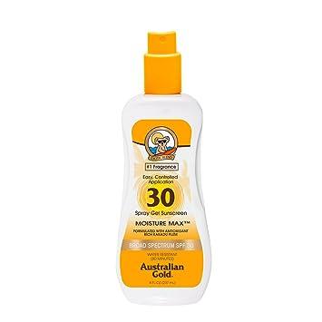 d36709cdb58d72 Australian Gold Sonnenschutz Spray SPF 30 plus, 237 ml: Amazon.de ...