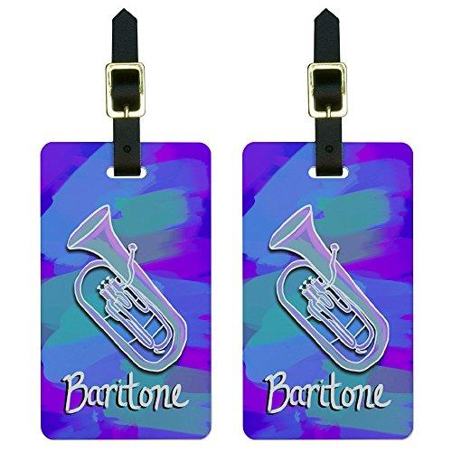 Baritone Musical Instrument Luggage Suitcase