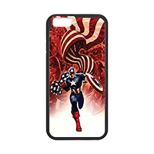 ROBIN YAM Captain America Hard TPU Rubber Coated Phone Case Cover for iphone 5s