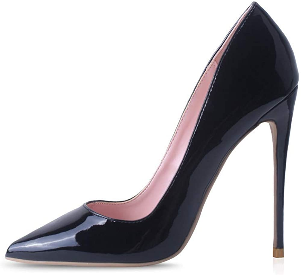 Amazon.com   Elisabet Tang Women Pumps, Pointed Toe High Heel 4.7 inch/12cm  Party Stiletto Heels Shoes   Pumps