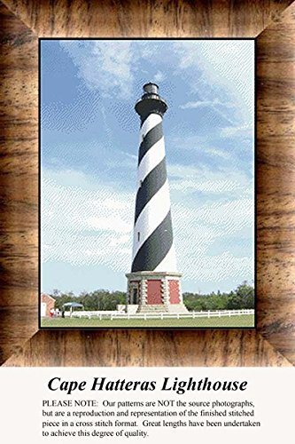 - Cape Hatteras Lighthouse, Lighthouse Counted Cross Stitch Pattern (Pattern Only, You Provide the Floss and Fabric)