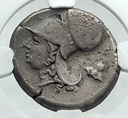 1000 GR CORINTH Authentic Ancient AR GREEK Stater Coin w Stater VF NGC