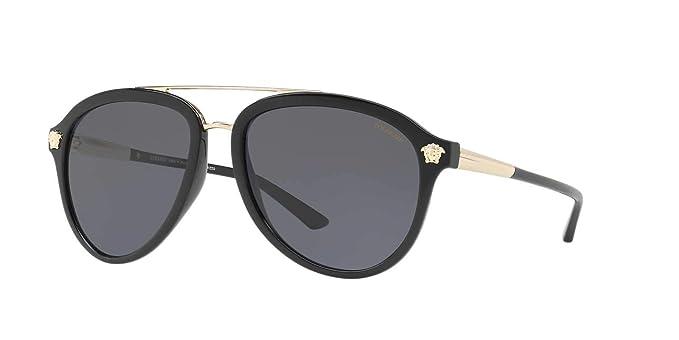 8cd3105dcebc Amazon.com  Versace Women s Aviator Sunglasses