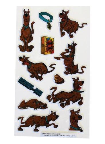 Scooby Doo 3D Sticker Set - Kids Stickers Sheet
