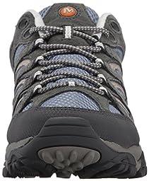 Merrell Women\'s Moab Ventilator Hiking Shoe, Smoke, 9.5 W US
