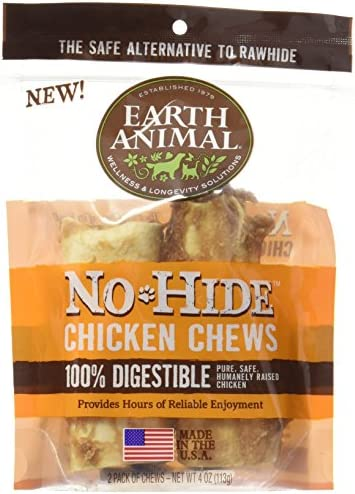 Earth Animal No-Hide Wholesome Dog Chews – Small