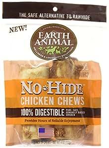Amazon.com : Earth Animal NoHide Chicken Chews 2 Pack (4