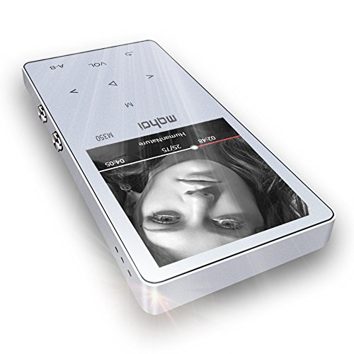 MYMAHDI MP3/MP4 Music Player, 8GB Portable Audio Player with Photo Viewer, Voice Recorder, FM Radio, A-B Playback, E-book,