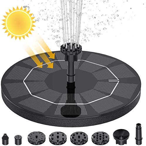 AISITIN 2.5W Solar Fountain