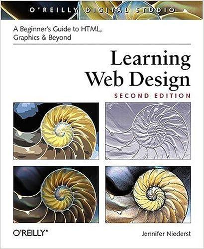 Learning Web Design Niederst Robbins Jennifer 9781600330070 Amazon Com Books