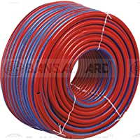 Bansal Hose Pipe for Gas Welding, 10MTR RED + 10MTR BLUE