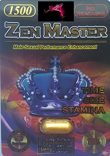 Zen-Master... EXTRA FOCUS - STRENGTH - TIME - SIZE - STAMINA - FULL POWER 1500 - ONE CAP 5 NIGHTS PLUS EXCLUSIVE LOVE PEN