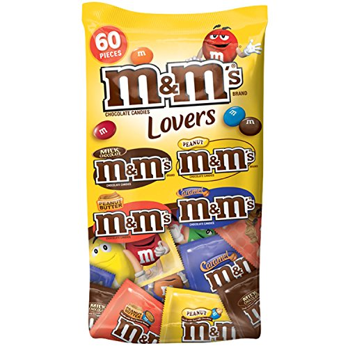 M&M's Variety Mix Chocolate Fun Size Candy, Mixed, 33.08 Ounce (M & M Mars)