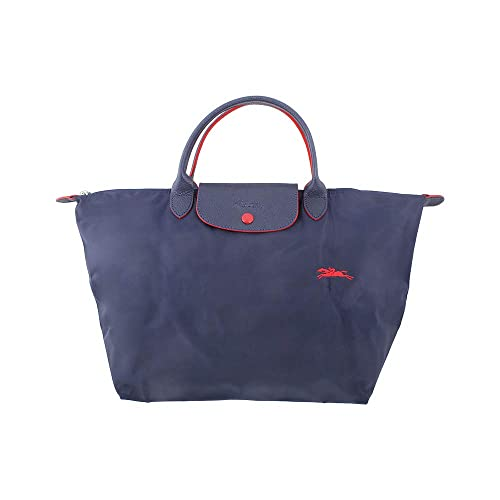 Longchamp Le Pliage Ladies Medium Navy Nylon Tote L1623619556
