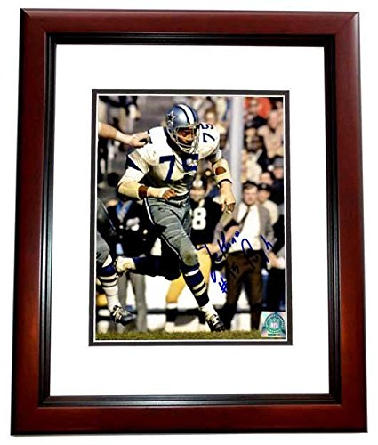 7391d5352 Signed Jethro Pugh Picture - 8x10 inch MAHOGANY CUSTOM FRAME Guaranteed to  pass or JSA -