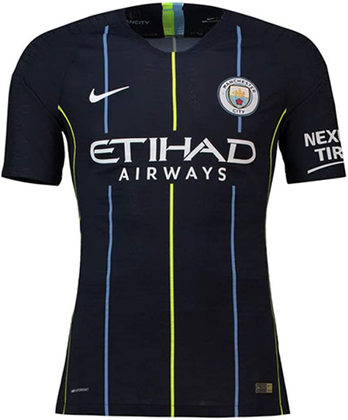 Nike 2018-2019 Man City Vapor Away Match Football Soccer T-Shirt ...