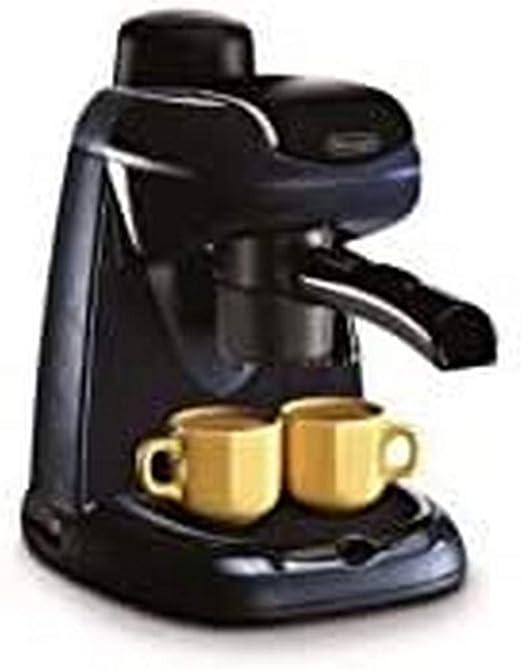DeLonghi EC 5.1 - Maquina de espresso, 800 W, 0.5 L, acero inoxidable/vidrio, negro: Amazon.es: Hogar