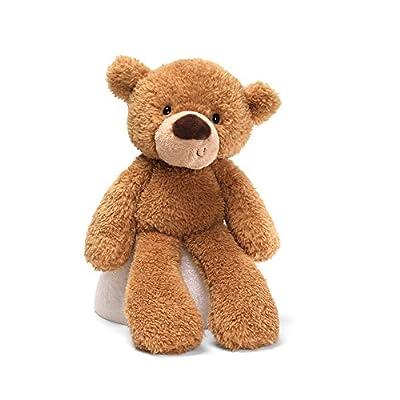 """GUND Fuzzy Teddy Bear Stuffed Animal Plush, Beige, 13.5"""""""