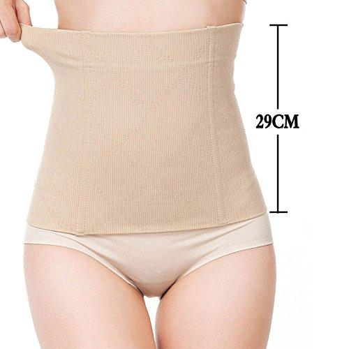 0a1a4bb5cd6e0 V2eshop Fat Burner Sauna Tummy Tuck Belt Hot Body Shaper Magic Girdle Belly  Slimming  Beige  S  Amazon.ca  Clothing   Accessories
