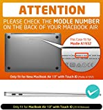 Macbook Air 13 Case, NexCase [Heavy Duty] Slim
