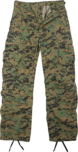 Melonie clothing Vintage Cargo Paratrooper BDU Pants Military Fatigue Trouser Vintage Cargo Pants