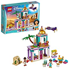 LEGO Disney 41161 Aladdin and Jasmine's Palace Adventures is the perfect Aladdin play set for recreating magical scenes from the Aladdin Disney movie. With a small marketplace, Cave of Wonders, palace and flying carpet, Disney fans can relive...