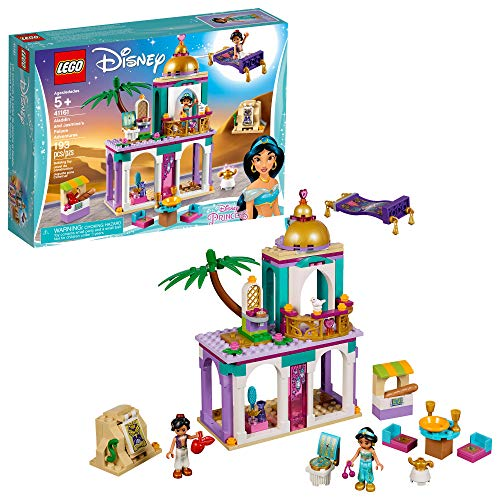 LEGO Disney Aladdin and Jasmine's Palace Adventures 41161 Building Kit, New 2019 (193 Pieces) ()