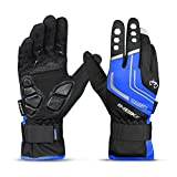 INBIKE Men's Full Finger Cycling Gloves with Gel Pad for Winter Cold Weather