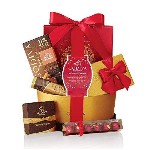 Godiva Chocolatier Holiday Cheer Gift Basket by GODIVA Chocolatier