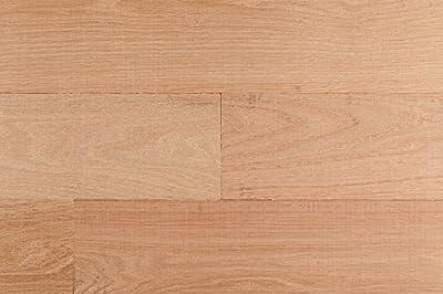 Unfinished Oak Solid Hardwood Flooring 3/4 x 6 IN Wide Plank