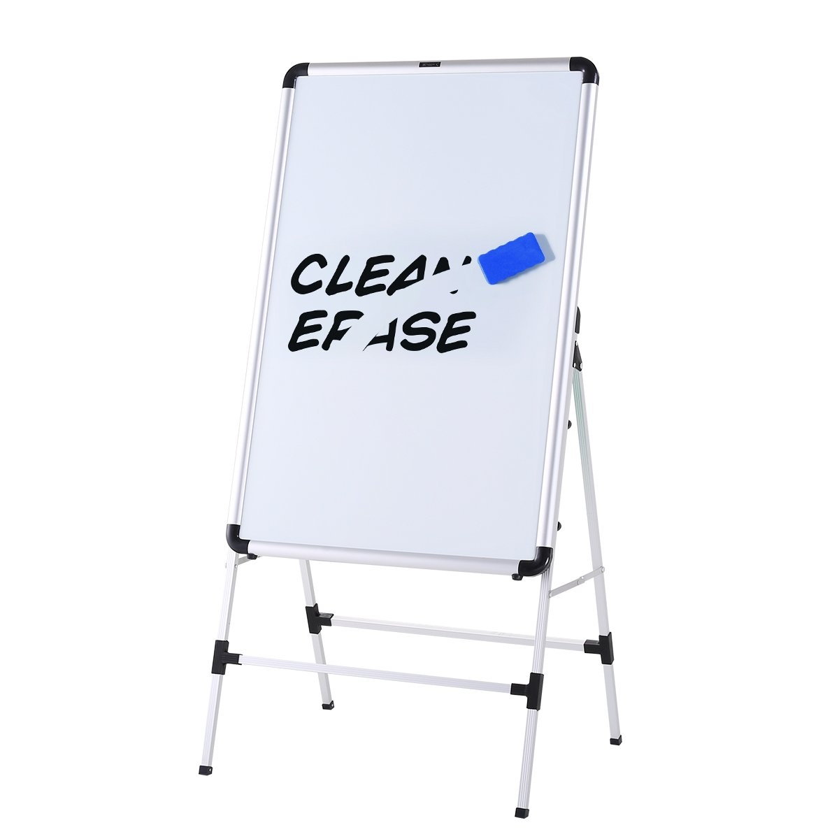 ZHIDIAN Magnetic whiteboard 36x24 Inch Dry Erase Boards with Stand Bulletin Aluminum frame Folding and convenient storage ZHIIDIAN FT605 bulletin board