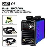 IGBT 220V MMA ARC Welding Machine-Tosense ZX7-200 220V 200A DC Inverter Portable Stick Welding Equipment For 3.2-4.0MM Rod