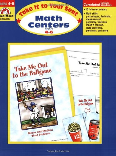 Amazon.com: Take It to Your Seat Math Centers, Grades 4-6 ...
