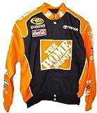 Tony Stewart #20 Home Depot Vintage Trackside Orange/Black Adult Jacket (3X)