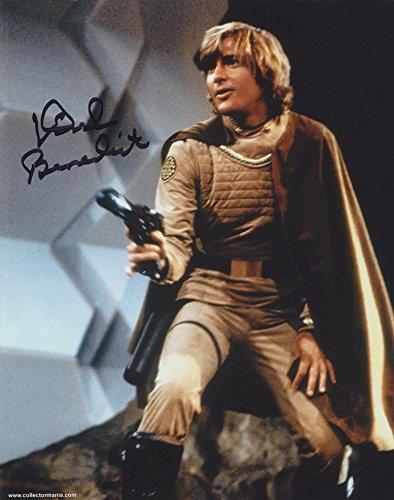 DIRK BENEDICT as Lt. Starbuck - Battlestar Galactica (1978) GENUINE AUTOGRAPH