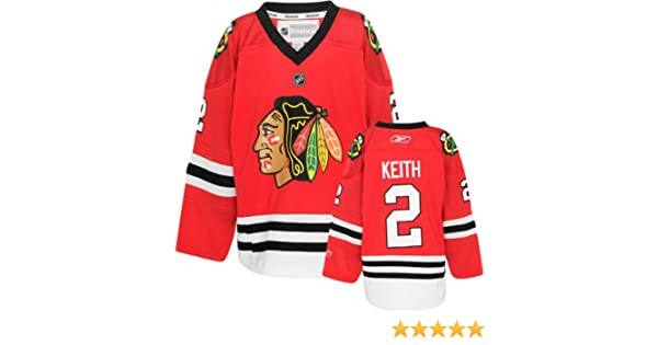 Amazon.com   Duncan Keith  2 Chicago Blackhawks Reebok Youth Red Replica  Jersey (S M)   Sports Fan Jerseys   Sports   Outdoors 397b2cdc6