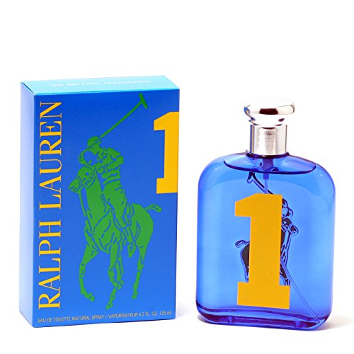 Polo Big Pony Blue #1 For Menby Ralph Lauren - Edt Spray 4.2 Oz ()
