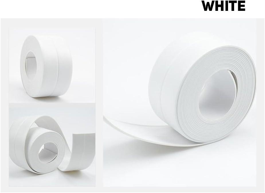 Self Adhesive Waterproof Anti-moisture Bathroom Kitchen Wall Sticker Tape Roll //