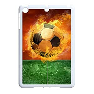 Soccer ball Customized Phone Case for iPad Mini,diy Soccer ball Case