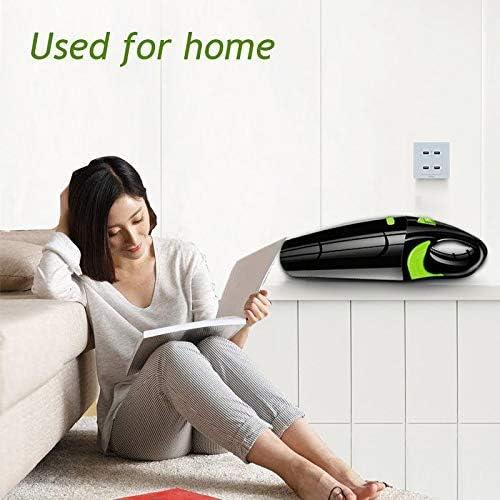 SANON Aspirateur Puissant 120W sans Voiture Aspirateur Portable USB Portable sans Fil Humide/Sec Rechargeable Utilisation Accueil Voiture Vide Cleane WTZ012
