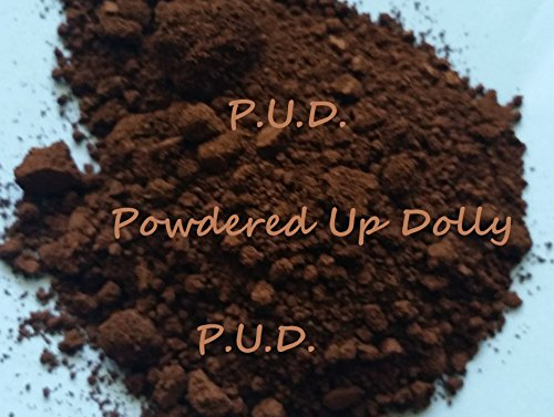 1 Oz / 29g BROWN MATTE Iron Oxide Powder Pigment for Mineral Cosmetic Makeup and Soap Making 1Oz / 29g