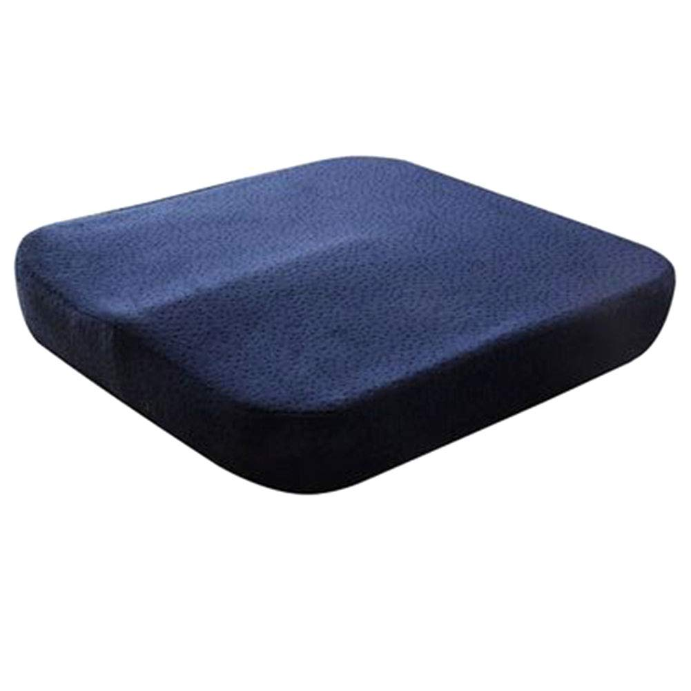 WANGXN Groß Als Bürostuhl-Kissen, Tragbares Auto-Sitzkissen, Rollstuhl-Kissen,Blau2