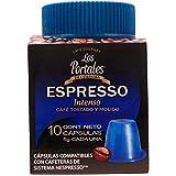 Los Portales de Cordoba Capsulas Café Gourmet ESPRESSO Intenso, 50 g