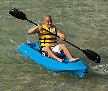 Paddle Beginners Level Carry Handles Lifetime Daylite 8ft 2.4M Sit On Kayak