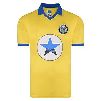 quality design 31d68 e136a Official Retro Newcastle United 1982 Away Polyester Retro Shirt 100%  POLYESTER