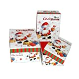 Rect. Xmas Gift Box 3pc Set, Case of 24