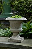 Campania International P-584-AS Toulouse Urn, Alpine Stone Finish