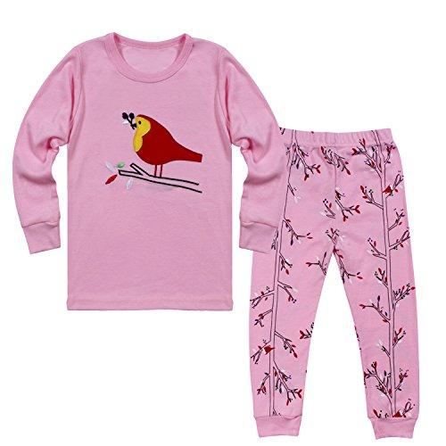Tkala Fashion Girls Pajamas Children Clothes Set100% Cotton Little Kids PJS (Cotton Kids Pajamas)